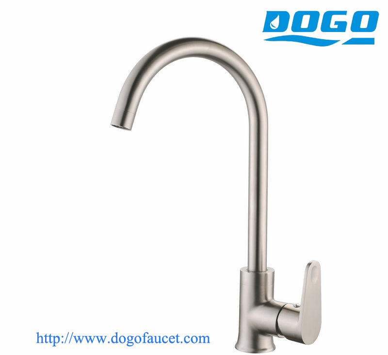 sus 304 stainless steel popular kitchen sink faucet in